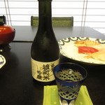 寿司・割烹 池田屋 - 宮下酒造 極聖 雄町米 吟醸 1100円(税別) (2017.9)