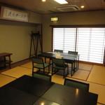 寿司・割烹 池田屋 - 3階の和室