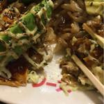 お好み焼・鉄板焼の店 炎 - 湯来町こんにゃく麺