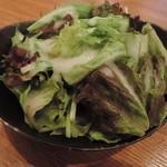 和ガリコ - 100円追加のサラダ