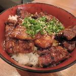 和ガリコ - ランチの炭火豚丼(並)