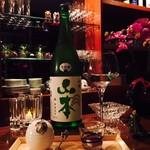 日本酒×ジャズバー リル・ダーリン - 山本 和韻