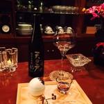 日本酒×ジャズバー リル・ダーリン - 天の戸純米大吟醸45