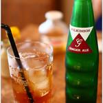日本酒×ジャズバー リル・ダーリン - ジンジャーエール