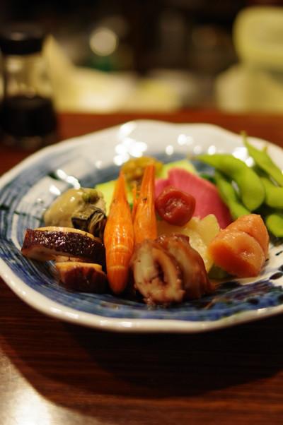 魚菜 - 酒菜の盛合せ