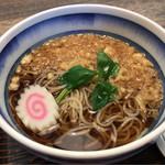 秀福 - 料理写真:たぬきそば 820円