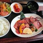 京都焼肉 南大門 - 特製焼肉ランチ♪