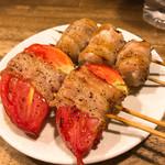 やまちゃん - 料理写真:トマト巻・えのき巻