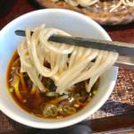 蕎麦処鏑屋響 - 蕎麦リフト【料理】