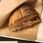 サンマルクカフェ - 料理写真:ベーコンエッグとたっぷり野菜