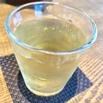 蕎麦処鏑屋響 - 冷たい蕎麦茶【料理】