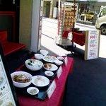 桂園 - お昼はお弁当もやっているよーです。