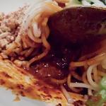 中国家庭料理 楊 - 辛味ダレは麺の下にある