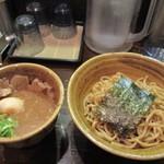 73002333 - ベジポタ味玉・肉入りつけ麺 1,100円