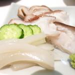 下町丸竹都寿司 - 真蛸 蛸の軟骨 スミイカ