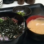 名もなき魚屋 - 海鮮丼