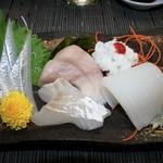寿司一作 - 刺身 盛り合わせ