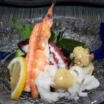 寿司一作 - 酢の物 盛り合わせ
