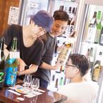 ニューキタノザカ - こだわりの日本酒70種がセルフ飲み放題!