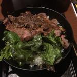 73008771 - ステーキ丼( ´ ▽ ` )ノ