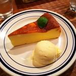 ホワイトバード コーヒー スタンド - チーズケーキ