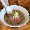 Chuukasobayoshikawa - 料理写真:ガツンとしょうがのきいた中華そば