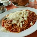 73012130 - 【ランチ】バジリコとモッツアレラチーズのトマトソース:1,100円