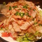 全品食べ放題飲み放題居酒屋 おすすめ屋 - 特製和風サラダ
