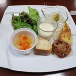 アルベロ - 前菜(ランチ)