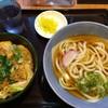 阪急そば - 料理写真:「天玉丼定食」 2017.03.07