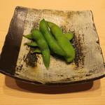 鮨 由う - 枝豆