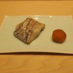 鮨 由う - 東京湾小柴沖の太刀魚塩焼き