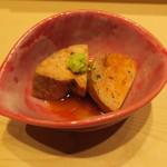 鮨 由う - 宮城県産のあん肝の甘煮