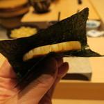 鮨 由う - 平貝の磯辺焼き
