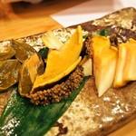 鮨嵩 - 煮アワビ