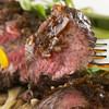 ソウジュ - 料理写真:霜降り牛サガリのレアステーキ