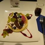 ロカンダ - 葡萄のパンケーキ@1,400