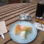 カフェ・ド・スール - 料理写真:テラス席にて