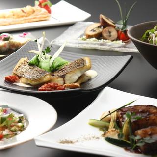 ◆自由自在のコース料理◆足すのも省くのもお客様次第◎
