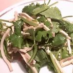73025100 - 干し貝柱と香菜と干し豆腐和え物1500円