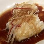 73025108 - 白身魚の山椒ソース3000円