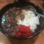 ラー麺マン - ミニカレーライス