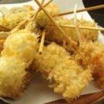 宇吉 - 揚げたての宇吉盛り(10本セット)♪目の前で揚げる美味しい串揚げ。一人で堪能するもよし、みんなでワイワイ分け合うもよし♪