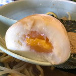 りらくしん - 【2017.9.5】味玉¥100 お出汁が染みていて美味い❤️
