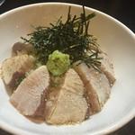 居酒屋 海虎 - 料理写真:はまち炙り丼