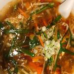 唐庄酒家 - 料理写真:サンラータンメン