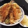 Nihombashitendonkanekohannosuke - 料理写真:1709_日本橋 天丼 金子半之助 大阪ららぽーとEXPOCITY_上天丼@980円