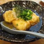 海鮮炉端と土鍋ごはん えびす - もちもち揚げ出し豆腐