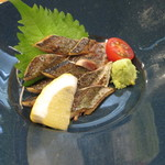 海鮮炉端と土鍋ごはん えびす - さんま刺