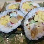 紀の川鮨 - 料理写真:紀ノ川巻